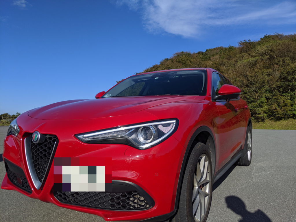アルファロメオSUVSTELVIO FIRST EDITION